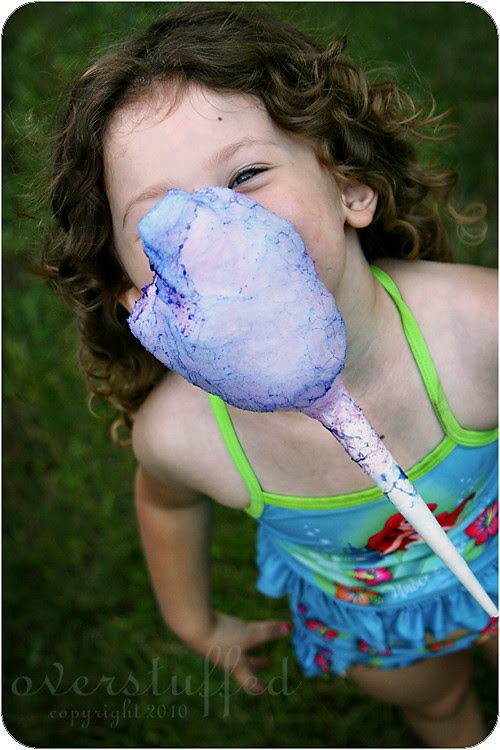 Cotton Candy Face