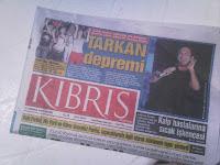 Front page of KIBRIS paper