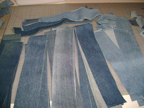 5 pair of jeans