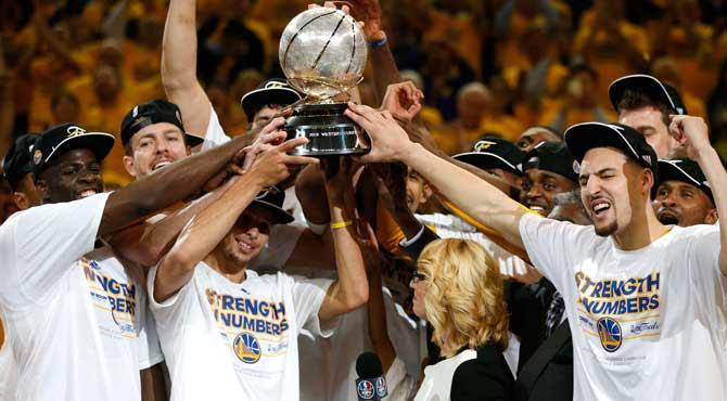 Los Warriors ganan el anillo