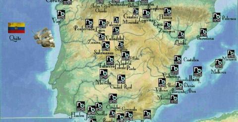 Mapa de las protestas de este 30 de junio