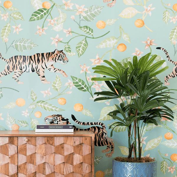 Clementine Wallpaper Mural Project Nursery