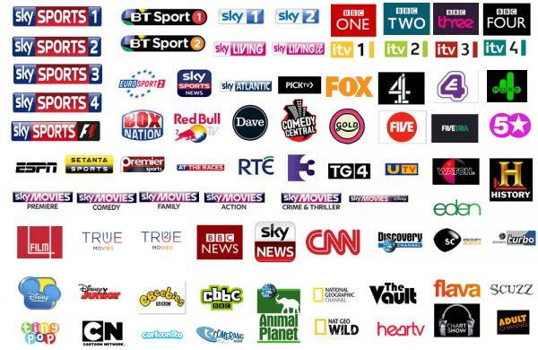 UK sky bt sports bbc rte movies ppv iptv channels