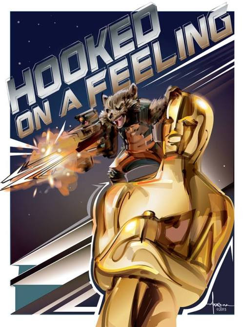 GOTG: Hocked on a Feeling - Oscars 2015 by Orlando Arocena