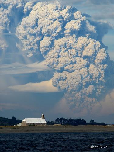 Erupción Volcan Chaitén