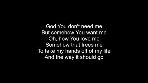 I Want U To Take Over Control Lyrics