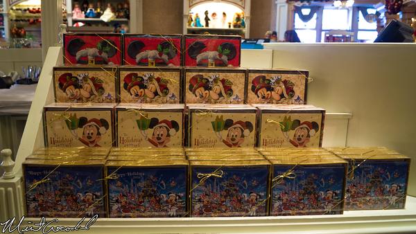 Disneyland Resort, Disneyland, Main Street U.S.A., Christmas Time, Christmas, Cards