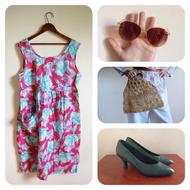 How to Wear Vintage • May Flowers.