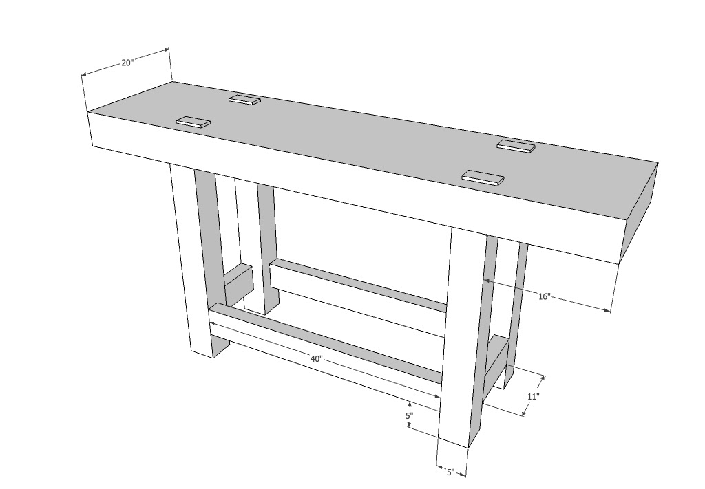 Workbenches: Balancing the Base and Top
