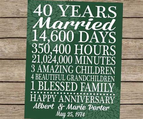 16 best 40th anniversary images on Pinterest   Wedding