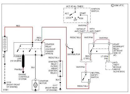 1989 Lincoln Town Car Radio Wiring Diagram