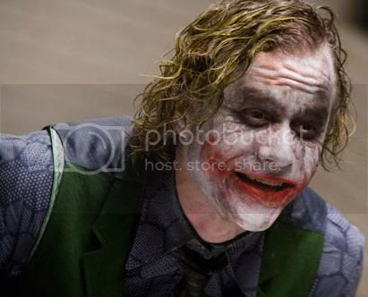 Dark Knight - Heath Ledger is the Joker.