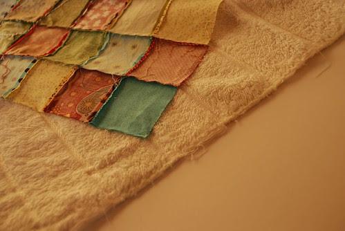 recycled bath mat tutorial 3