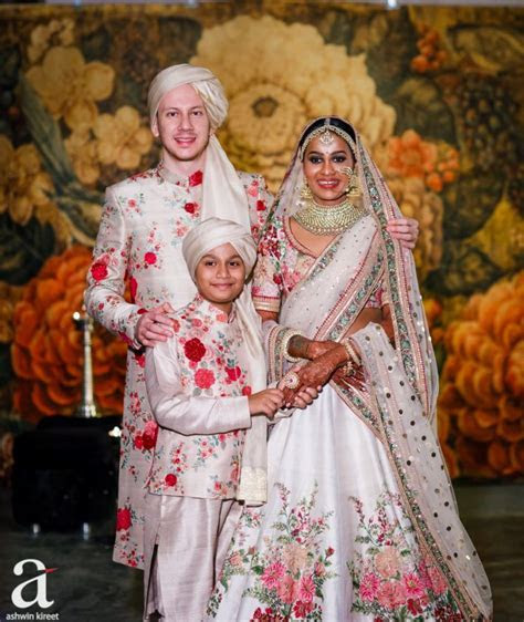 A Beautiful Second Marriage, With The Brides Son As Her