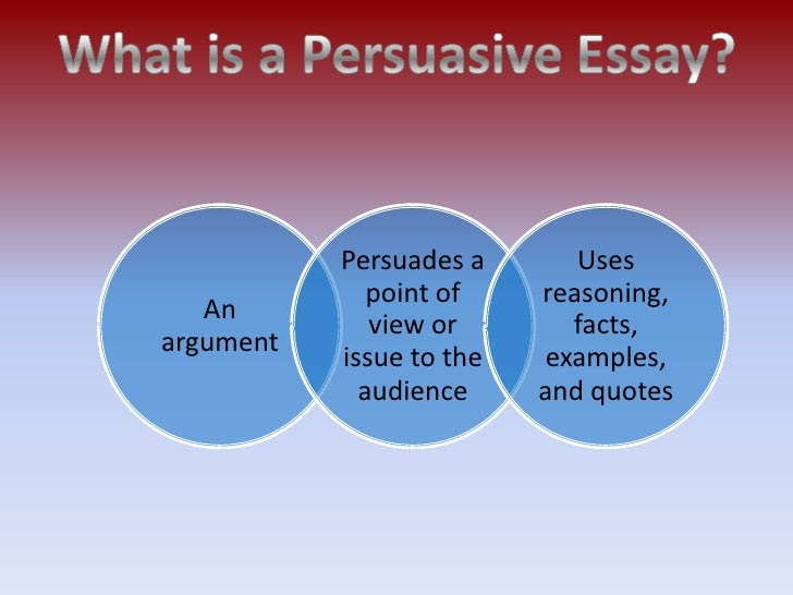 steps to writing an argumentative essay learning