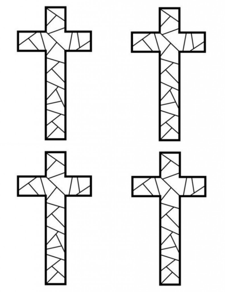 Free Printable Cross Coloring Pages What Mommy Does Coloring Pages