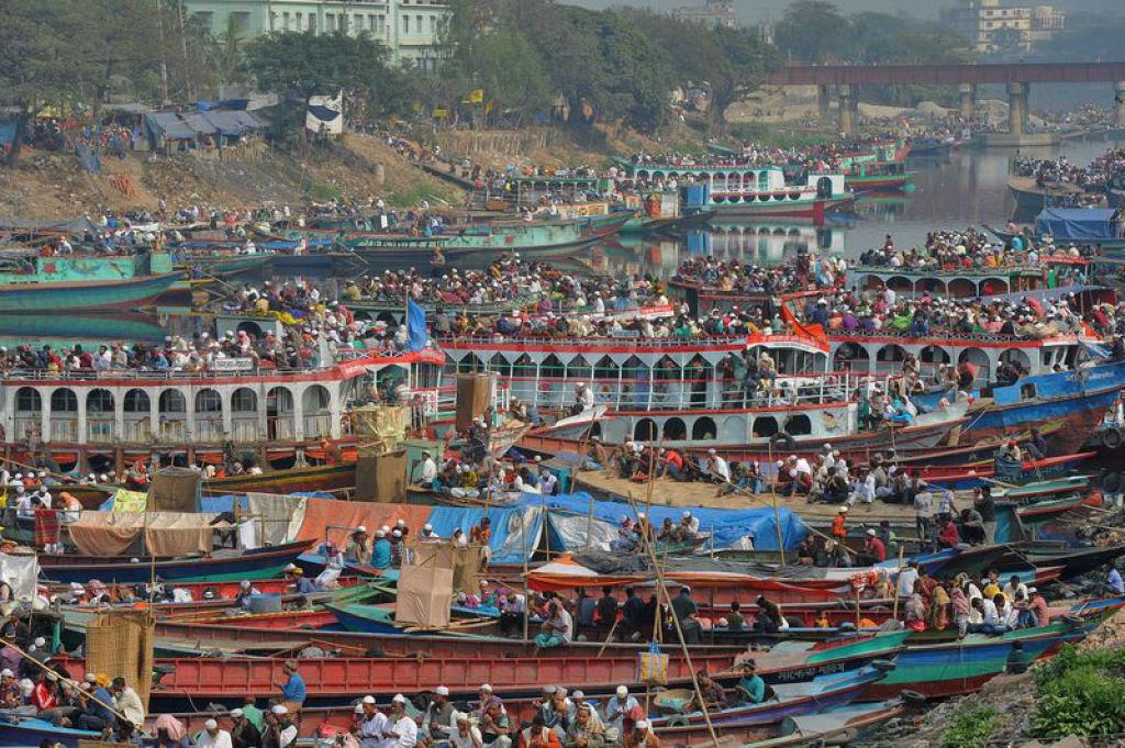 Todos a bordo para Bangladesh - Biswa Ijtema 2014 15