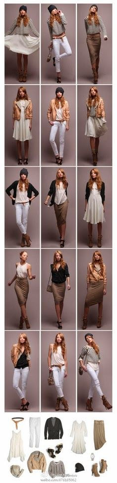 Women Lady Fashion: Different Outfits with Different Ways for Ladies, ...