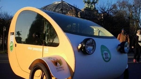 Urbano. El MÖ es un auto chico, que alcanza 50 kilómetros por hora.