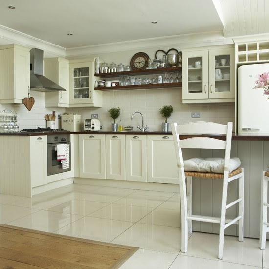 Kitchen Wall Tiles For Cream Kitchens