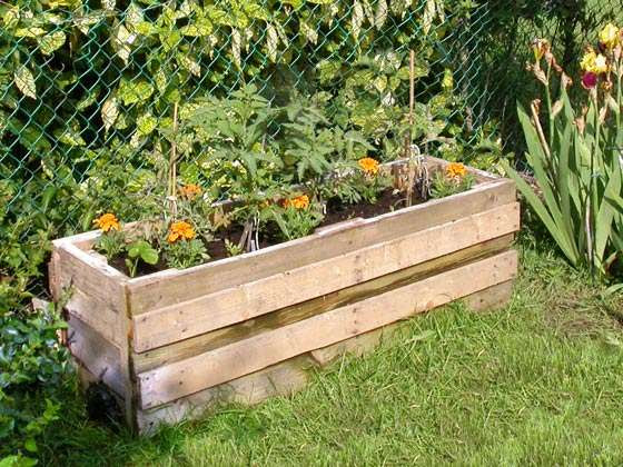 Incredible Planters From Wood Pallet Garden 560 x 420 · 58 kB · jpeg
