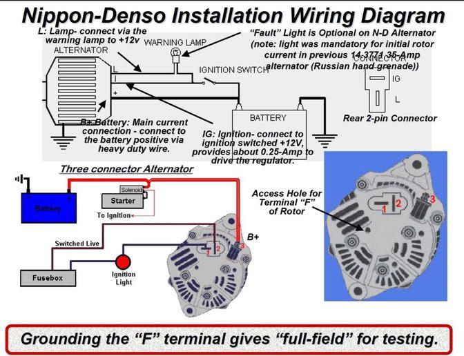 Massey Tractor Alternator Wiring Diagram