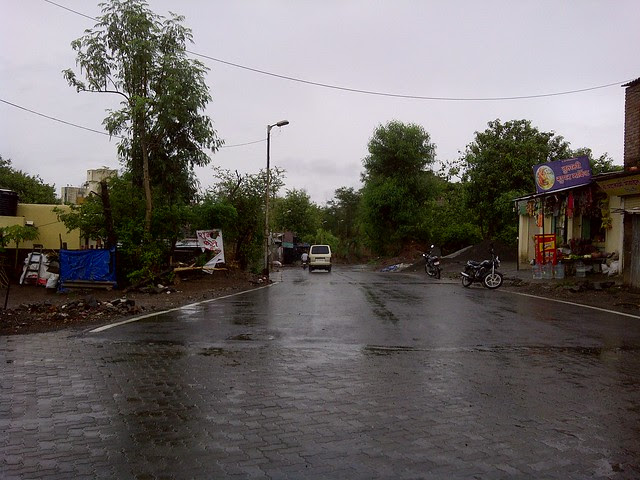 Paved D P road to Baner Village - Visit Amit's Sereno, Reelicon Alpine Ridge, Pride Platinum, Welworth Paradise, Venkateshwara Mirabel & Pride Valencia, near Pancard Clubs, Baner, Pune 411045