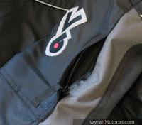 entrada de ar jaqueta sbk v6