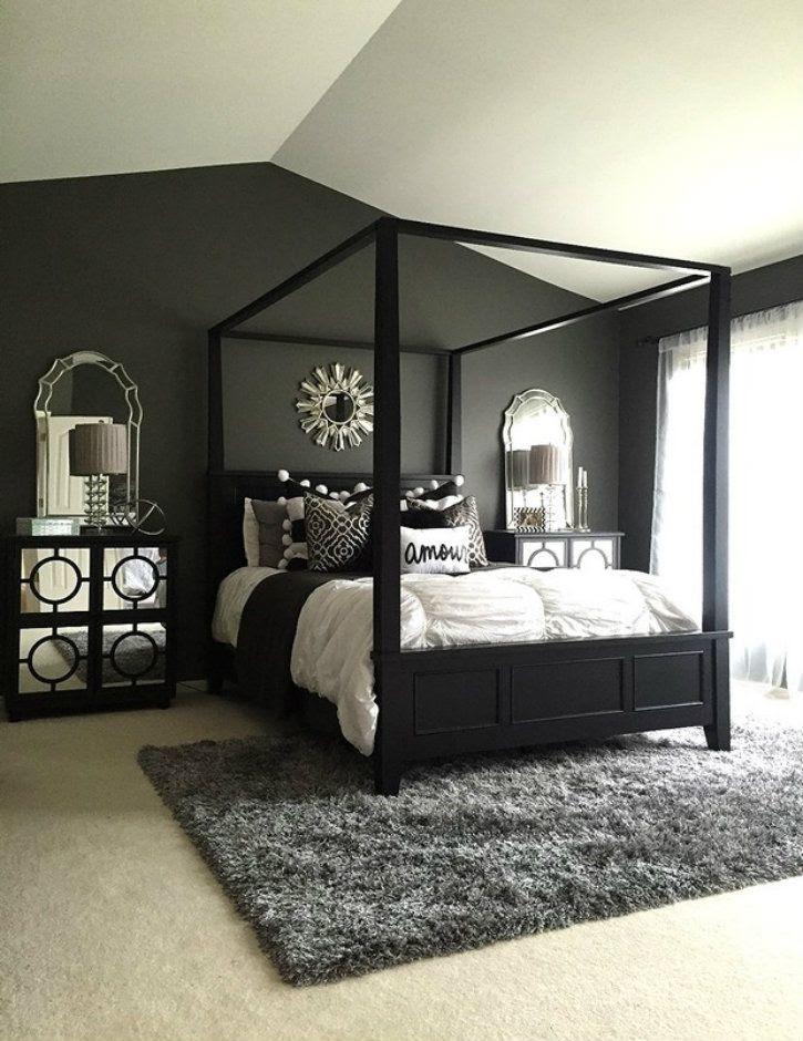 85+ Black Bedroom Set Pinterest Free