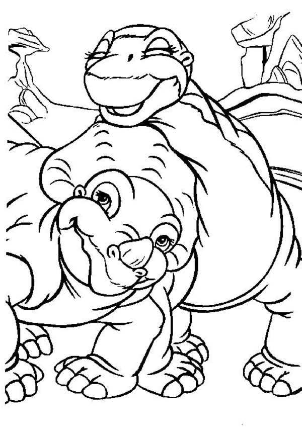 Land Before Time Coloring Pages - Coloringnori - Coloring Pages For Kids