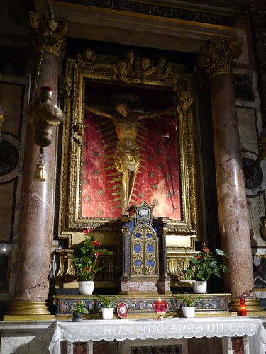 Crucifixion and Reliquary