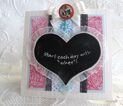 MFT start the day with whee PI card mel stampz (sentiment)