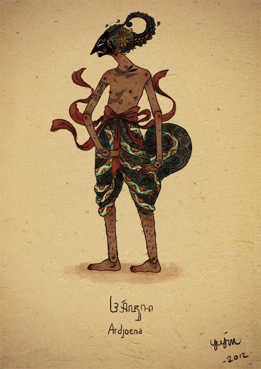 Wayang Arjuna By Yujin707 On Deviantart