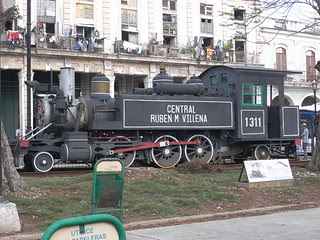 Loco museum outside Central Station