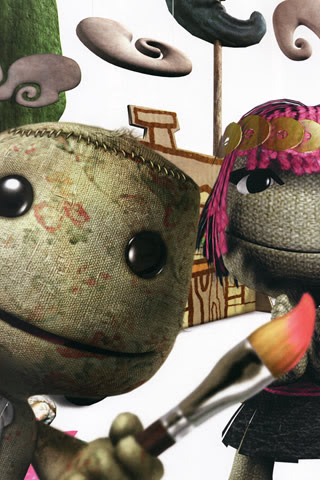 Ps3 Little Big Planet Wallpaper For Iphone