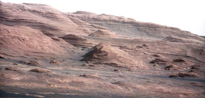 Base of Mount Sharp