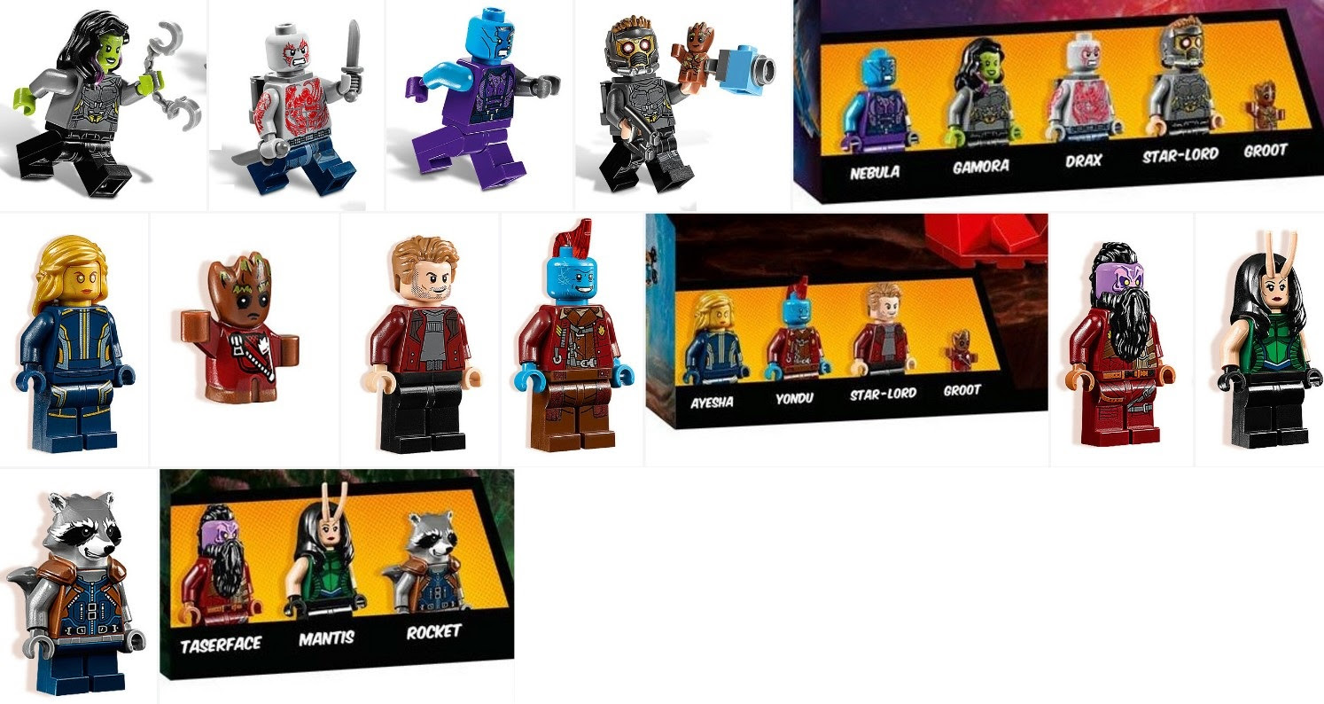 Image result for guardians of the galaxy 2 legos