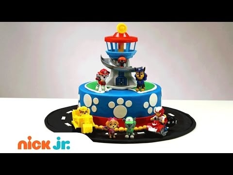 Design Your Own Cake Uk : NickALive!: How to Create & Decorate Your Own PAW Patrol ...