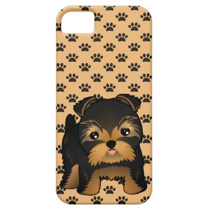 Kawaii Cute Yorkshire Terrier Puppy Dog iPhone 5 Cover