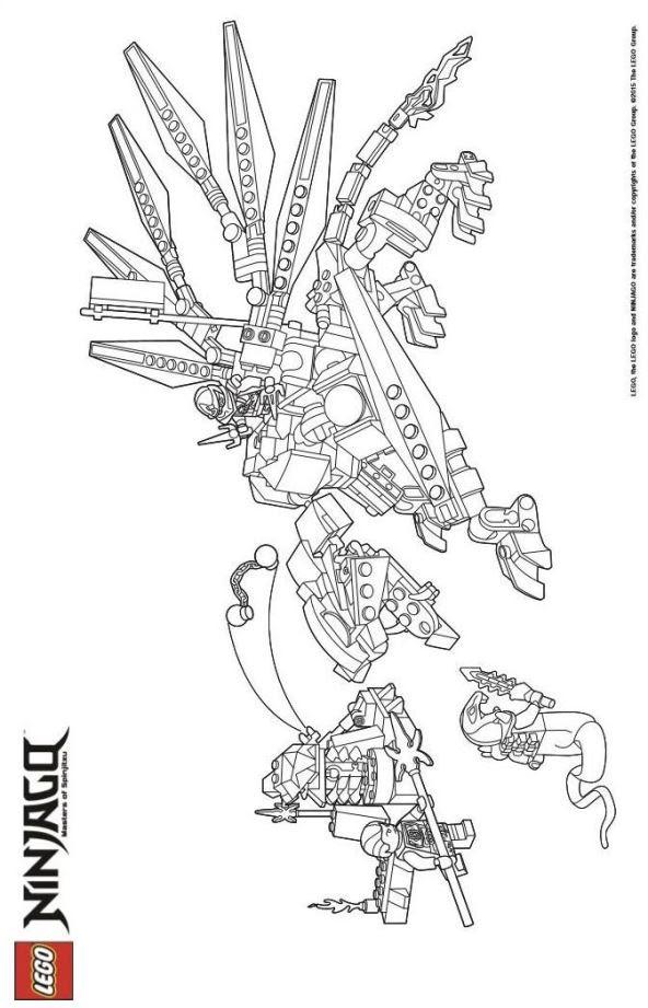 lego ninjago schlangenmeister ausmalbilder - coloring and
