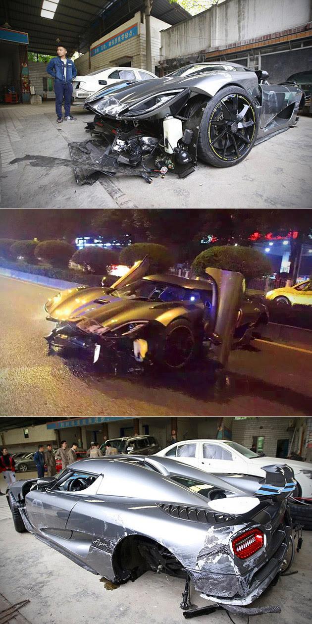 Video Shows 4 Million Koenigsegg Agera R Crash In China Plenty Of