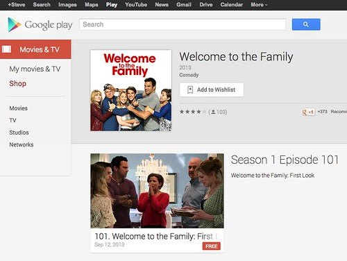 Welcome to the Family - Movies & TV on Google Play by stevegarfield