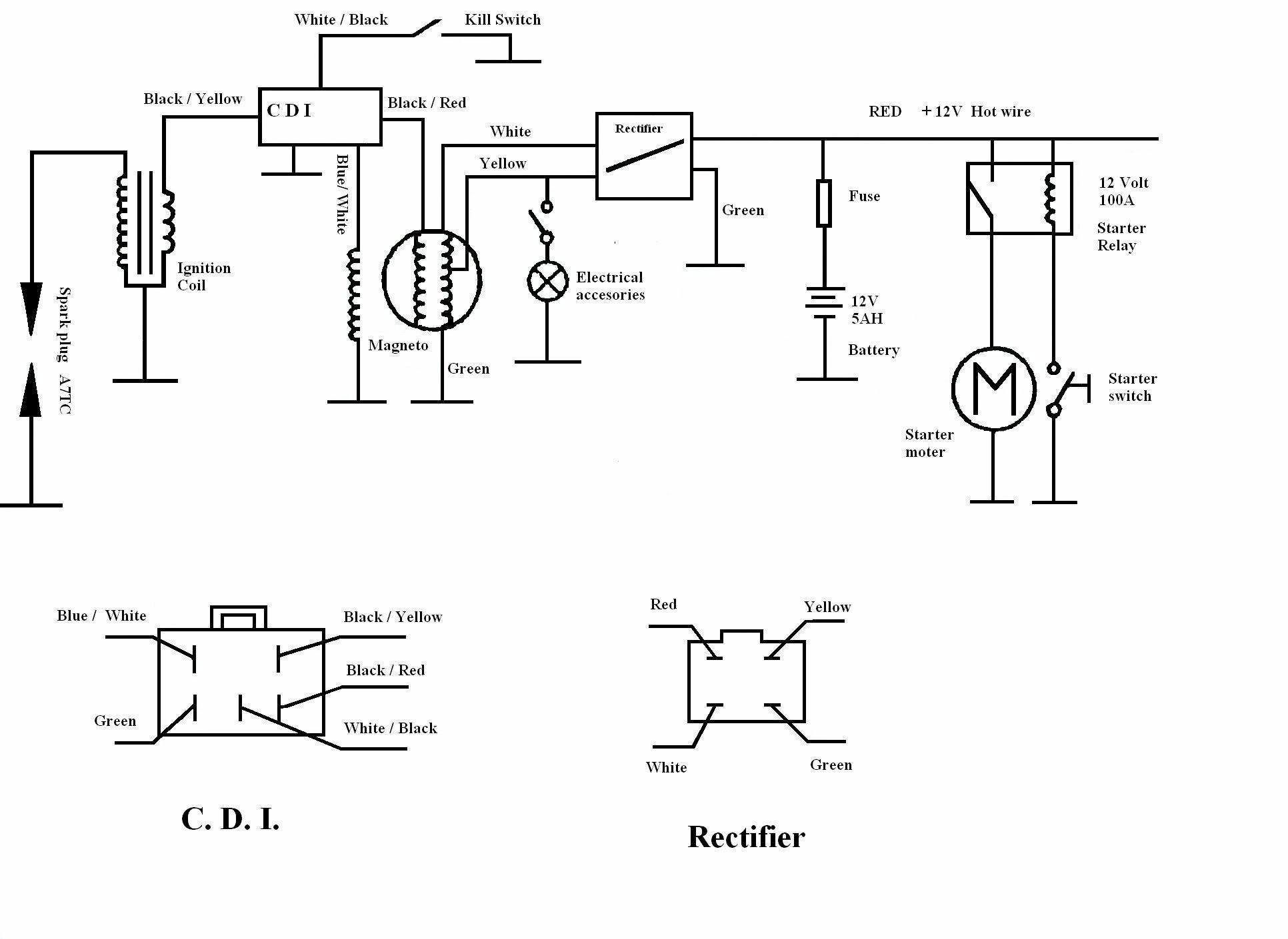 Lifan 125 Engine Wiring Diagram - Wiring Diagram