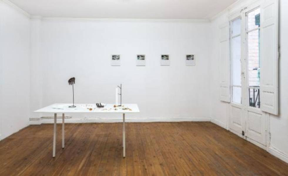 Exposición inaugural en fluent, 'Overture', en 2016.