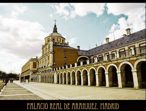 palacio de aranjuez. madrid