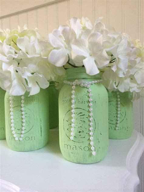 25  best ideas about Mason Jar Centerpieces on Pinterest