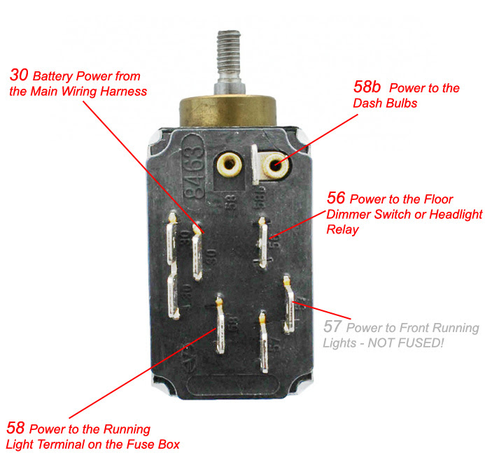 1967 Vw Bug Headlight Switch Wiring Wiring Diagram Local A Local A Maceratadoc It