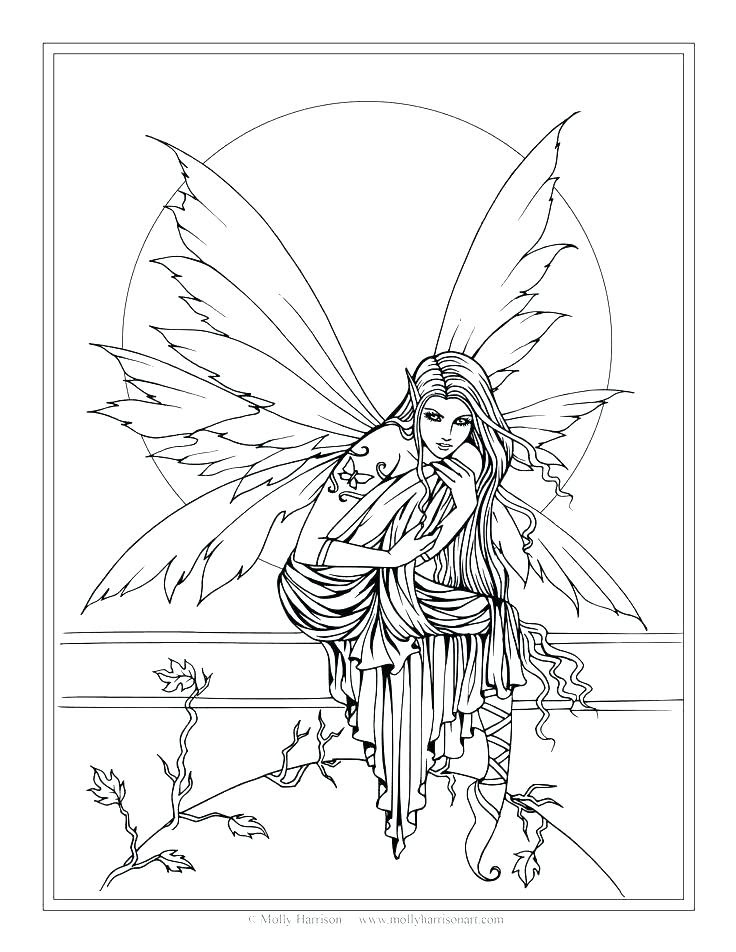 Fantasy Art Coloring Pages at GetColorings.com | Free ...