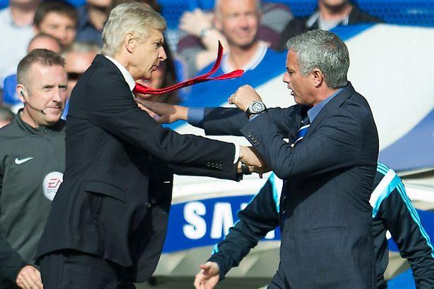 Jose Mourinho Vs Wenger