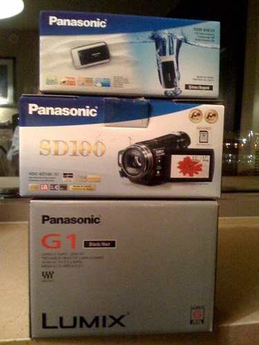 Panasonic SDR-SW20, SD100, G1